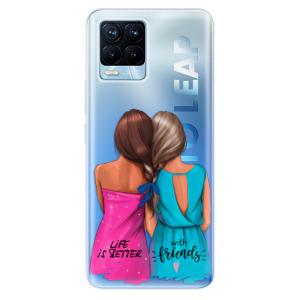 Odolné silikonové pouzdro iSaprio - Best Friends na mobil Realme 8 / Realme 8 Pro