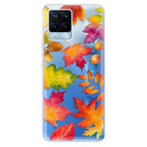 Odolné silikonové pouzdro iSaprio - Autumn Leaves 01 na mobil Realme 8 / Realme 8 Pro