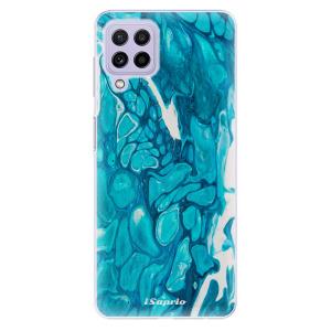 Odolné silikonové pouzdro iSaprio - BlueMarble 15 na mobil Samsung Galaxy A22 4G