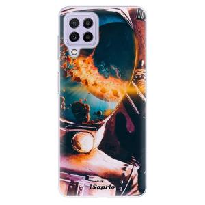 Odolné silikonové pouzdro iSaprio - Astronaut 01 na mobil Samsung Galaxy A22 4G