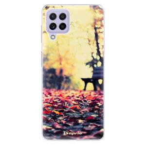 Odolné silikonové pouzdro iSaprio - Bench 01 na mobil Samsung Galaxy A22 4G