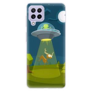 Odolné silikonové pouzdro iSaprio - Alien 01 na mobil Samsung Galaxy A22 4G