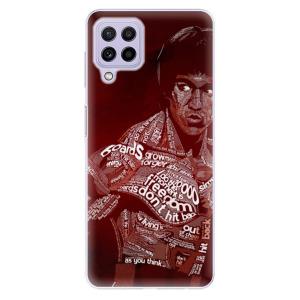 Odolné silikonové pouzdro iSaprio - Bruce Lee na mobil Samsung Galaxy A22 4G