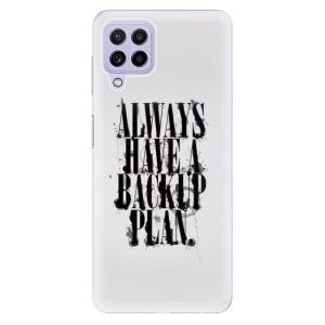Odolné silikonové pouzdro iSaprio - Backup Plan na mobil Samsung Galaxy A22 4G