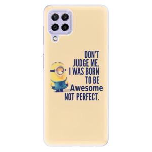 Odolné silikonové pouzdro iSaprio - Be Awesome na mobil Samsung Galaxy A22 4G