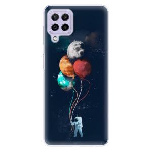 Odolné silikonové pouzdro iSaprio - Balloons 02 na mobil Samsung Galaxy A22 4G