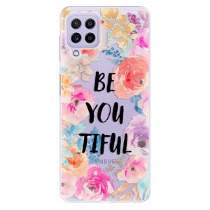 Odolné silikonové pouzdro iSaprio - BeYouTiful na mobil Samsung Galaxy A22 4G