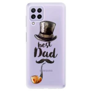 Odolné silikonové pouzdro iSaprio - Best Dad na mobil Samsung Galaxy A22 4G