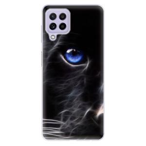 Odolné silikonové pouzdro iSaprio - Black Puma na mobil Samsung Galaxy A22 4G