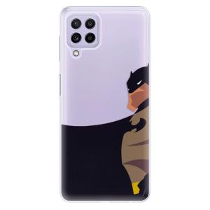 Odolné silikonové pouzdro iSaprio - BaT Comics na mobil Samsung Galaxy A22 4G