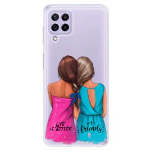 Odolné silikonové pouzdro iSaprio - Best Friends na mobil Samsung Galaxy A22 4G