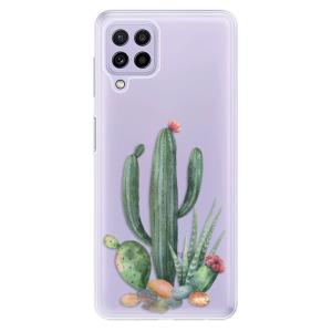 Odolné silikonové pouzdro iSaprio - Cacti 02 na mobil Samsung Galaxy A22 4G