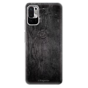 Odolné silikonové pouzdro iSaprio - Black Wood 13 na mobil Xiaomi Redmi Note 10 5G / Xiaomi Poco M3 Pro 5G