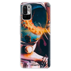 Odolné silikonové pouzdro iSaprio - Astronaut 01 na mobil Xiaomi Redmi Note 10 5G / Xiaomi Poco M3 Pro 5G