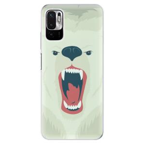 Odolné silikonové pouzdro iSaprio - Angry Bear na mobil Xiaomi Redmi Note 10 5G / Xiaomi Poco M3 Pro 5G