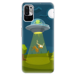 Odolné silikonové pouzdro iSaprio - Alien 01 na mobil Xiaomi Redmi Note 10 5G / Xiaomi Poco M3 Pro 5G