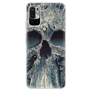Odolné silikonové pouzdro iSaprio - Abstract Skull na mobil Xiaomi Redmi Note 10 5G / Xiaomi Poco M3 Pro 5G