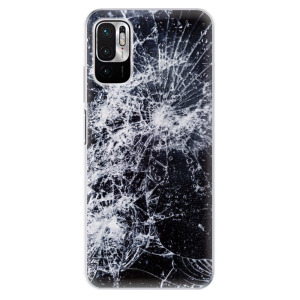 Odolné silikonové pouzdro iSaprio - Cracked na mobil Xiaomi Redmi Note 10 5G / Xiaomi Poco M3 Pro 5G