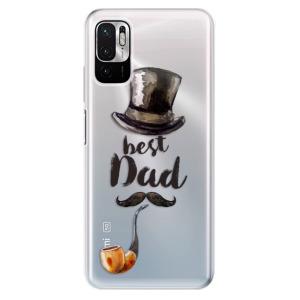 Odolné silikonové pouzdro iSaprio - Best Dad na mobil Xiaomi Redmi Note 10 5G / Xiaomi Poco M3 Pro 5G