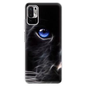 Odolné silikonové pouzdro iSaprio - Black Puma na mobil Xiaomi Redmi Note 10 5G / Xiaomi Poco M3 Pro 5G