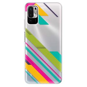 Odolné silikonové pouzdro iSaprio - Color Stripes 03 na mobil Xiaomi Redmi Note 10 5G / Xiaomi Poco M3 Pro 5G