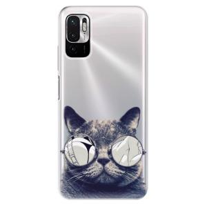 Odolné silikonové pouzdro iSaprio - Crazy Cat 01 na mobil Xiaomi Redmi Note 10 5G / Xiaomi Poco M3 Pro 5G