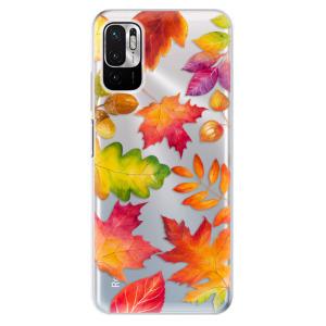 Odolné silikonové pouzdro iSaprio - Autumn Leaves 01 na mobil Xiaomi Redmi Note 10 5G / Xiaomi Poco M3 Pro 5G