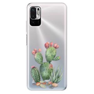 Odolné silikonové pouzdro iSaprio - Cacti 01 na mobil Xiaomi Redmi Note 10 5G / Xiaomi Poco M3 Pro 5G