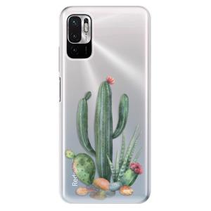 Odolné silikonové pouzdro iSaprio - Cacti 02 na mobil Xiaomi Redmi Note 10 5G / Xiaomi Poco M3 Pro 5G