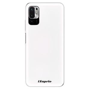 Odolné silikonové pouzdro iSaprio - 4Pure - bílé na mobil Xiaomi Redmi Note 10 5G / Xiaomi Poco M3 Pro 5G