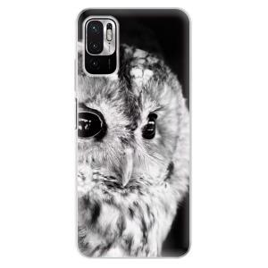 Odolné silikonové pouzdro iSaprio - BW Owl na mobil Xiaomi Redmi Note 10 5G / Xiaomi Poco M3 Pro 5G
