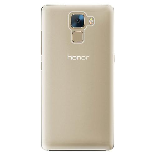 Plastové pouzdro iSaprio s vlastním potiskem na mobil Honor 7