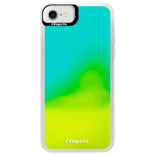 Pouzdro iSaprio s vlastním potiskem na mobil Apple iPhone 7 (neonové pouzdro Blue)