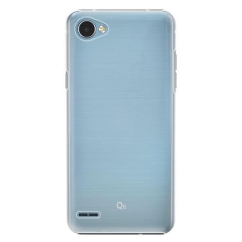 Plastové pouzdro iSaprio s vlastním potiskem na mobil LG Q6