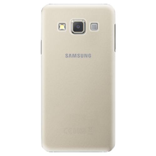 Plastové pouzdro iSaprio s vlastním potiskem na mobil Samsung Galaxy A3