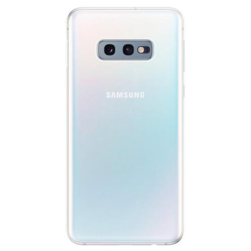 Silikonové pouzdro iSaprio s vlastním potiskem na mobil Samsung Galaxy S10e