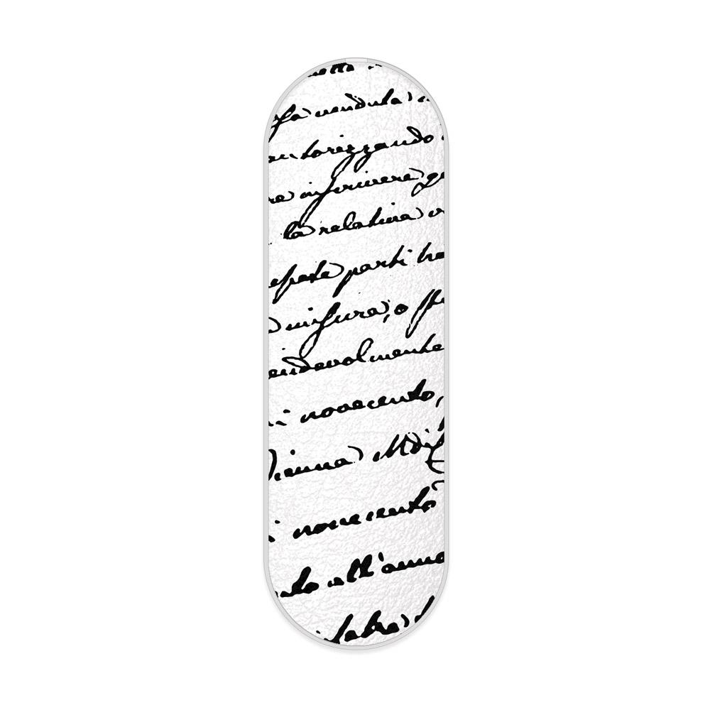 myGrip iSaprio – Handwriting 01 – black – držák / úchytka na mobil