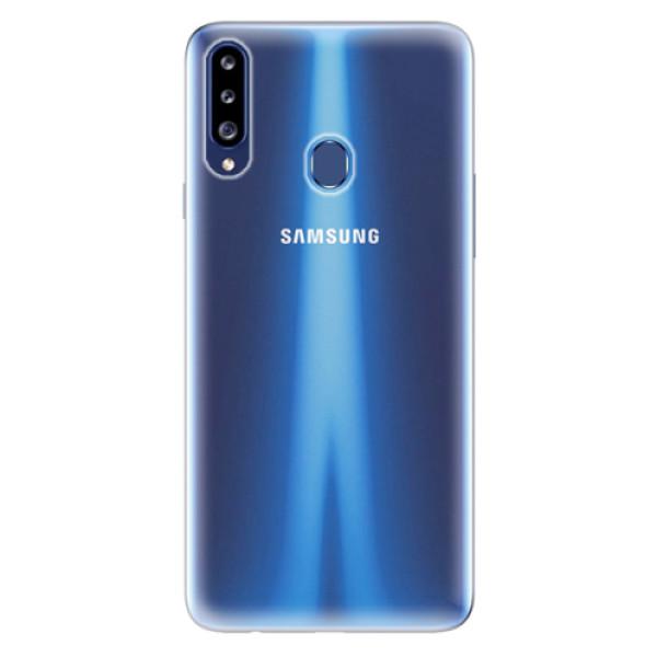 Silikonové pouzdro s vlastním motivem na mobil Samsung Galaxy A20s